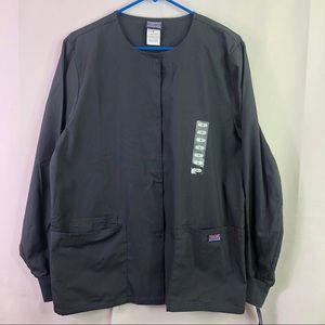 Cherokee Scrubs Snap Front Warm Up Jacket/Pants